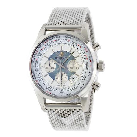 Breitling Transocean Chronograph Unitime Automatic // AB0510U0/A732-152A // Unworn