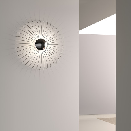 Fontanna LED Sconce (Satin White)