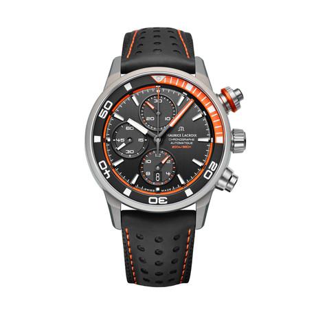 Maurice LaCroix Pontos Supercharged Automatic // PT6028-ALB31-331 (Orange)