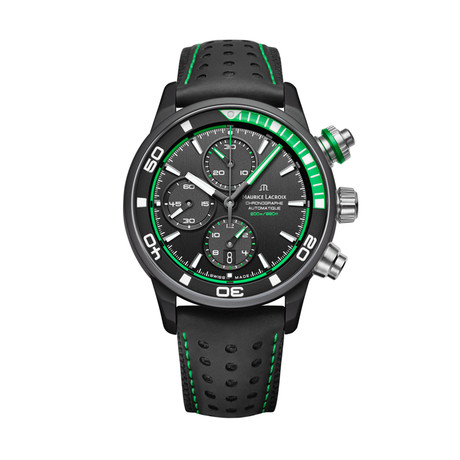 Maurice LaCroix Pontos Supercharged Automatic // PT6028-ALB01-332-1 (Green)