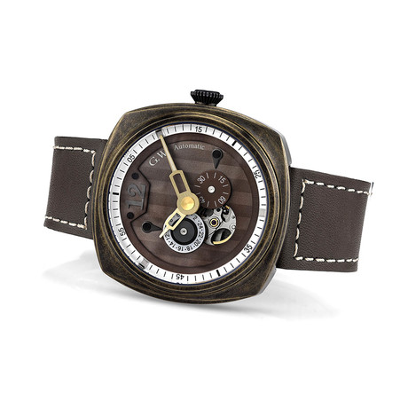 Gentleman Warfare Bronze Automatic // WCH-GW130-C460