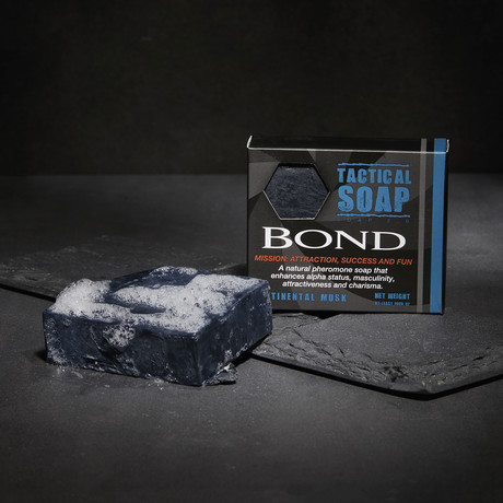 Bond Contintental Musk Pheromone Soap // 2 Pack