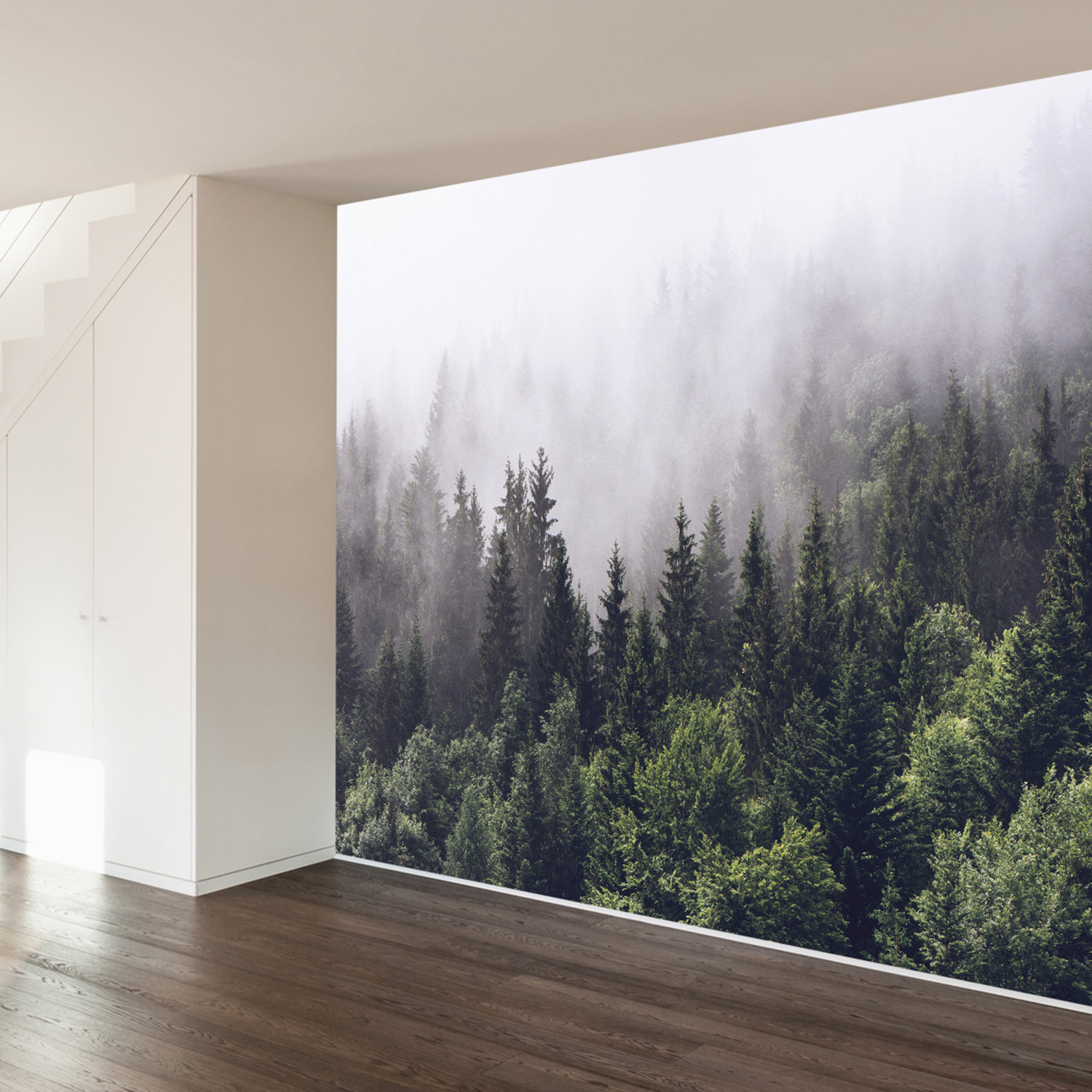 misty forest wall mural 100 misty forest wall mural 100
