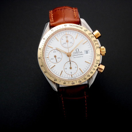 Omega Speedmaster Date Automatic // 35205 // Pre-Owned