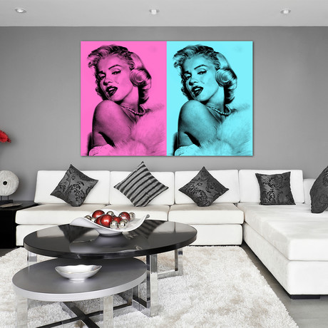 """Glamour Is Forever (24""""W x 16""""H x 1.5""""D)"""