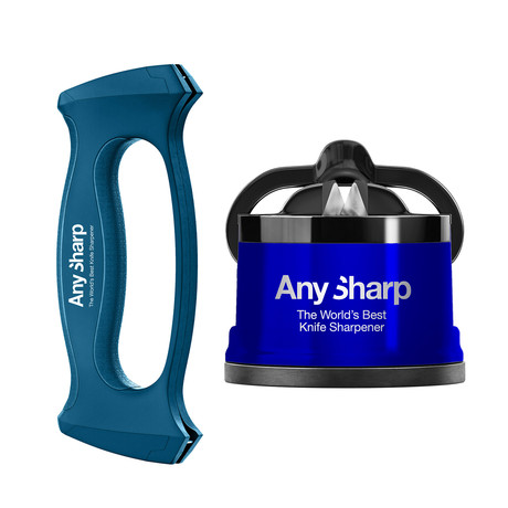 AnySharp Pro Blue + Multitool Sharpener