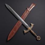 Mughal Badsha Sword