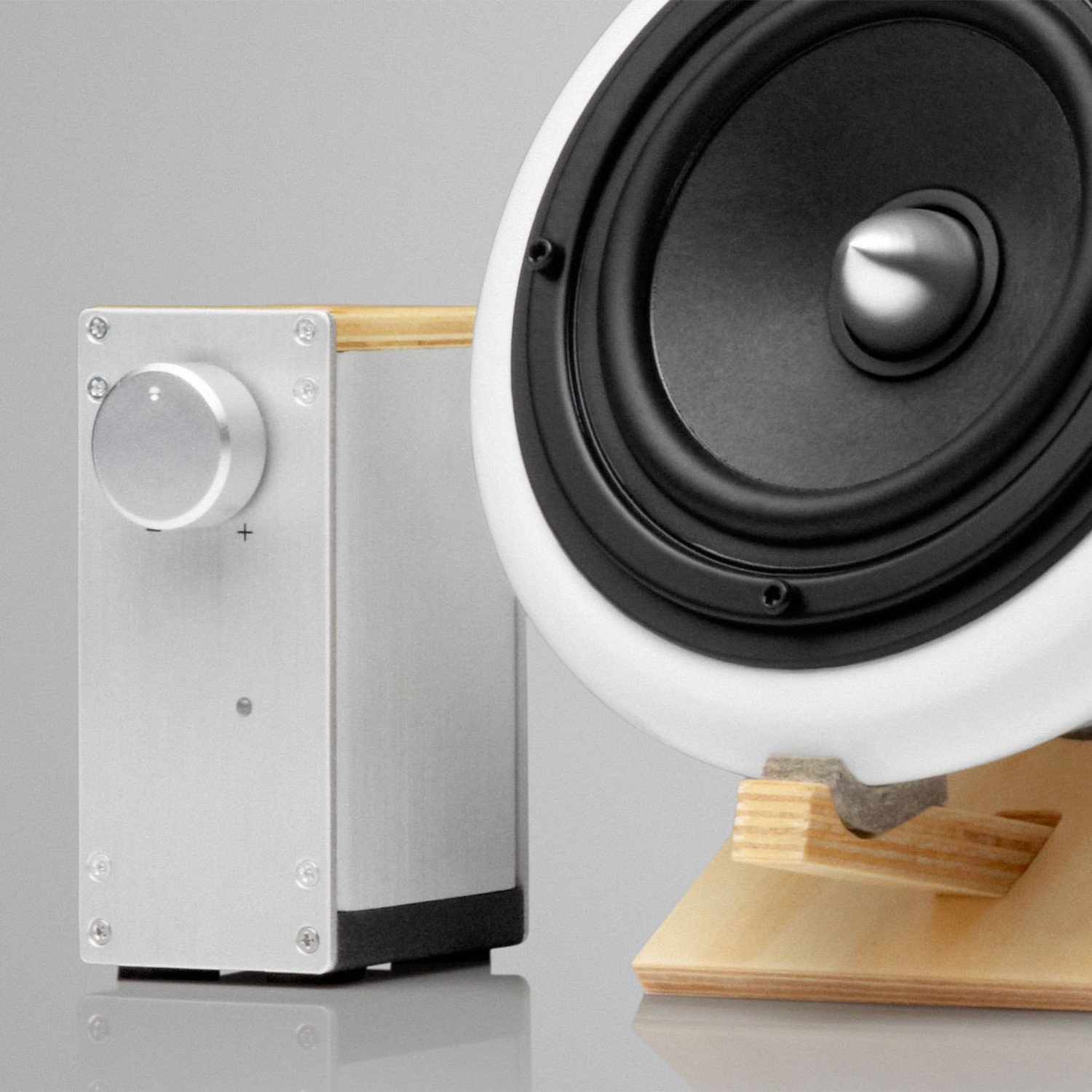 Ceramic Speakers + Amp - Joey Roth - Touch of Modern