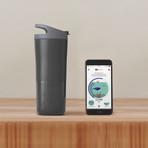Ozmo Active Smart Bottle (Grey)