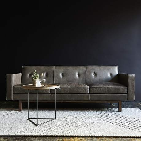Embassy Sofa (Saddle Black)