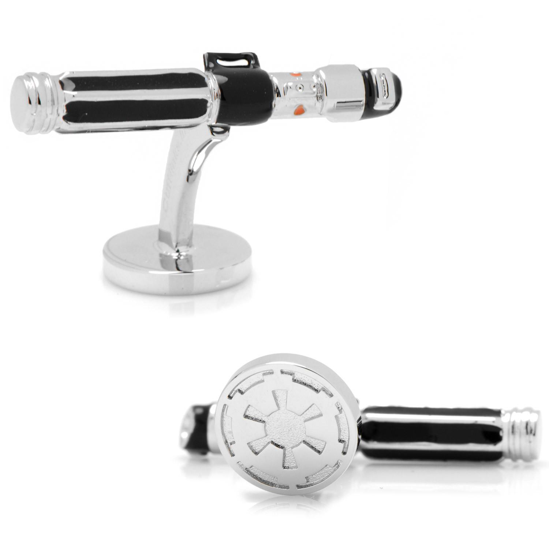 darth vader lightsaber cufflink silver cufflinks inc touch of modern. Black Bedroom Furniture Sets. Home Design Ideas