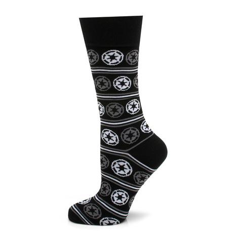 Imperial Stripe Sock // Black