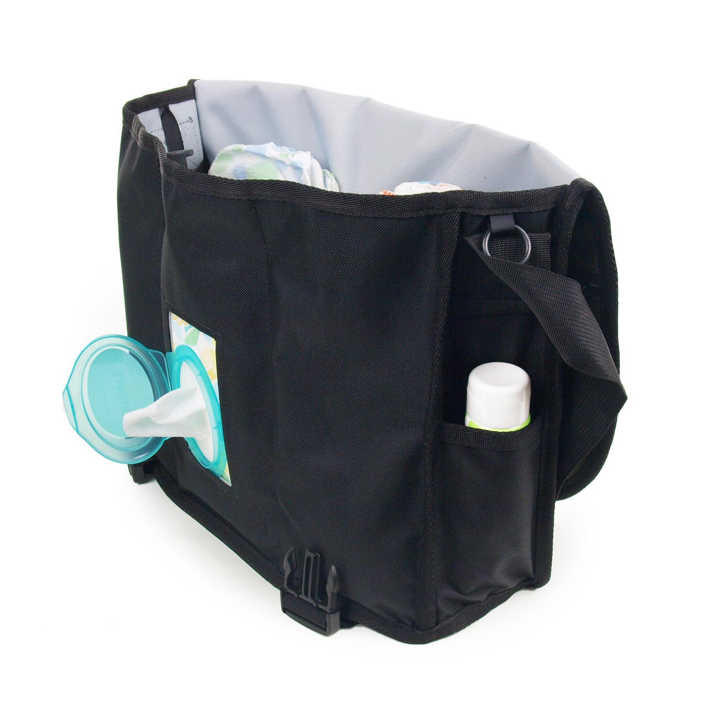 6df863c8e2 Courier Diaper Bag (Retro Stripe Blue) - DadGear® - Touch of Modern