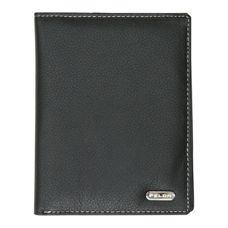 Bari Passport Cover // Black Multi
