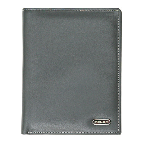 Bari Passport Cover // Grey Multi
