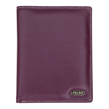 Bari Passport Cover // Purple Multi