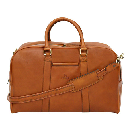 Naples Holdall // Tan