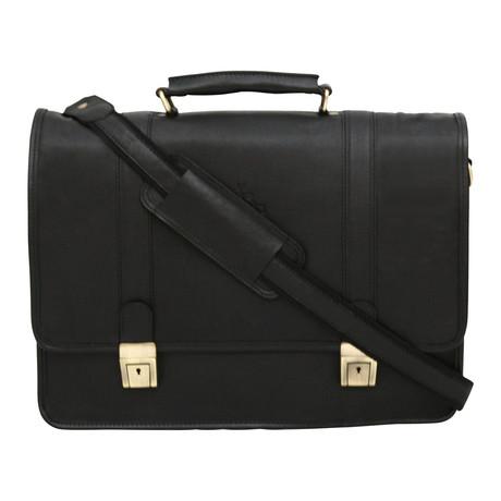 Ravenna Briefcase // Black