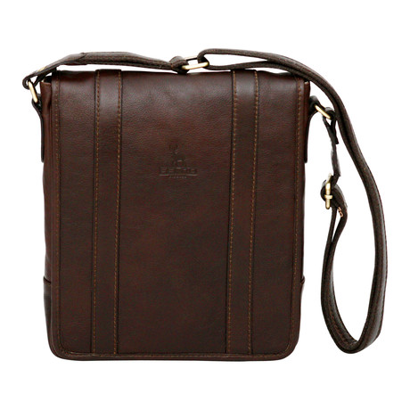 Syracuse Side Bag Mini Messenger // Brown