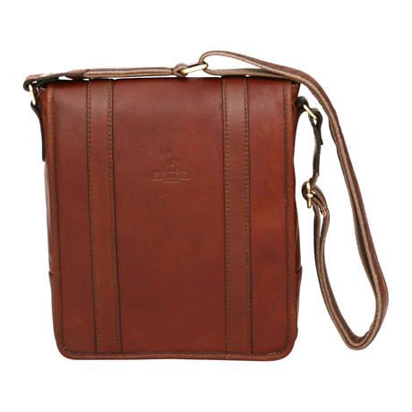Syracuse Side Bag Mini Messenger // Cognac