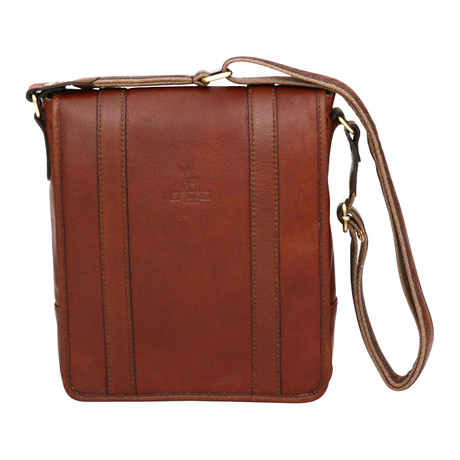 Syracuse Side Bag Mini Messenger // Cognac