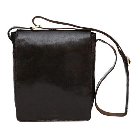 Lucca Side Bag Mini Messenger // Dark Brown