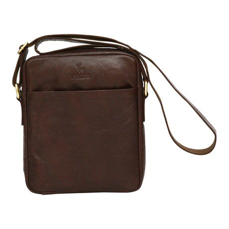 Livorno Mini Messenger // Brown