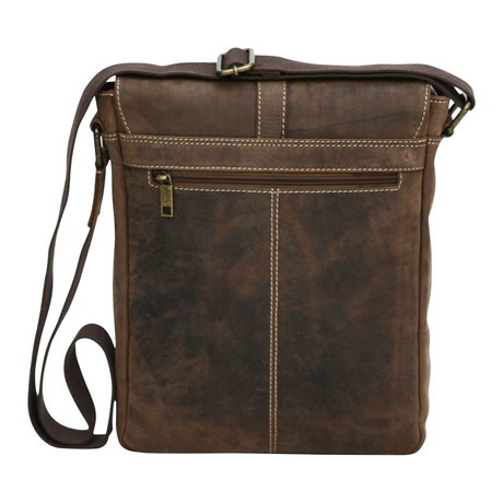 Palermo Leather Side Bag // Mud