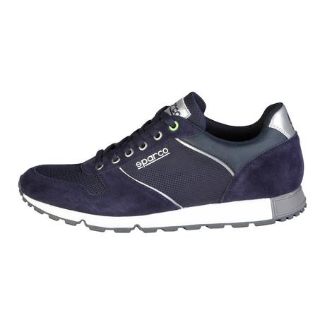 Davidstow Low-Top Sneaker // Blue