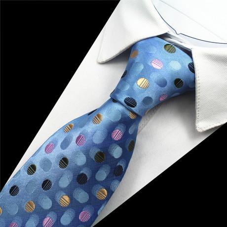 Avery Silk Tie // Baby Blue