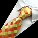 Emerson Tie // Orange + Yellow