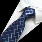Jamison Tie // Navy + Silver