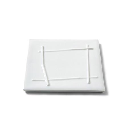 Bamboo Stick Plate // Square