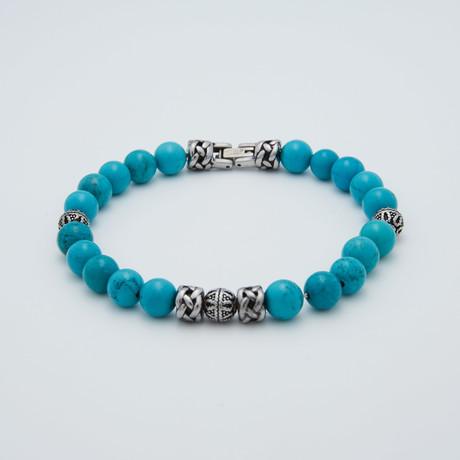 Bead Bracelet // Turquoise