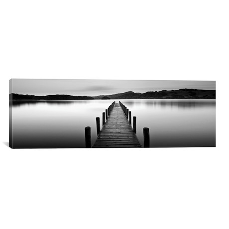"Lake Pier II // PhotoINC Studio (60""W x 20""H x 0.75""D)"