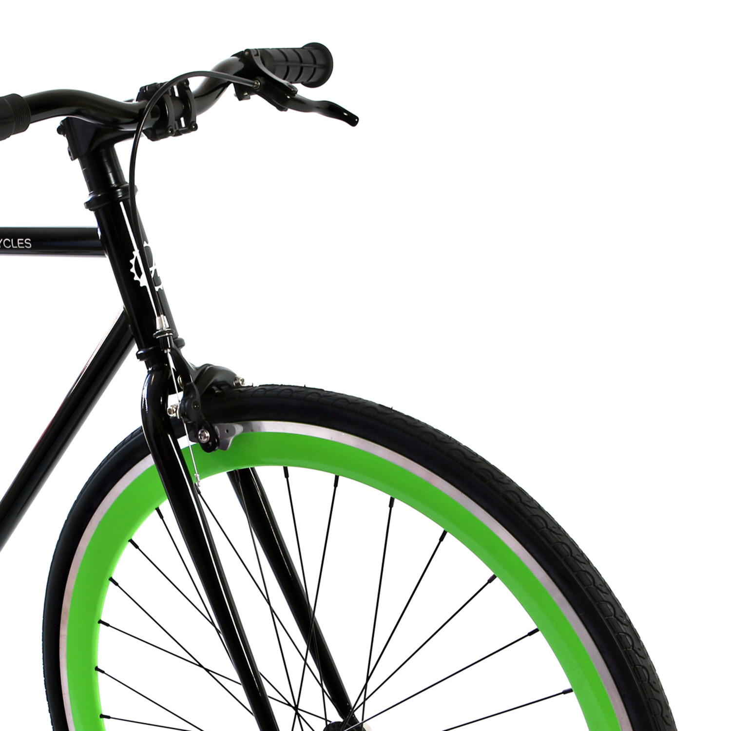 black singles in greens fork Springer forks for 26 cruisers and 20 lowrider bikes bent and straight versions with finishes in chrome or gold or black or raw metal for custom painting.