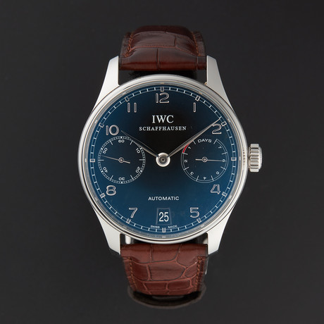 IWC Portuguese Chronograph Automatic // IW500109 // Pre-Owned