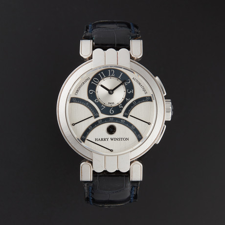 Harry Winston Excenter Triple Retrograde Manual Wind // 200/MCRA39WL.W // Pre-Owned