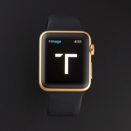 Apple iWatch // 18K Yellow Gold // Pre-Owned