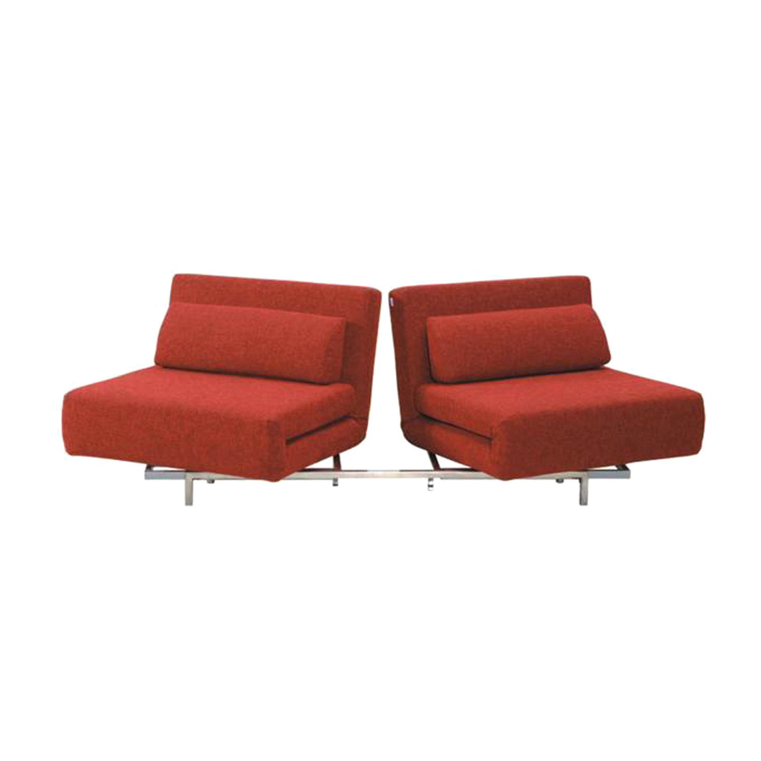 Cutie plus sofa bed red the smart sofa touch of modern for Sofa bed 4 6