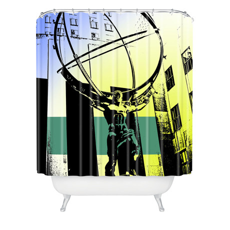 Atlas // Shower Curtain