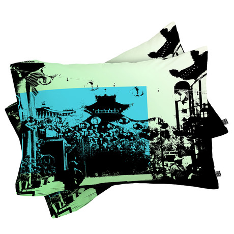 Chinatown // Pillow Case // Set of 2