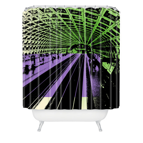 DC Metro // Shower Curtain