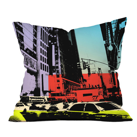 NY Street 1 // Throw Pillow