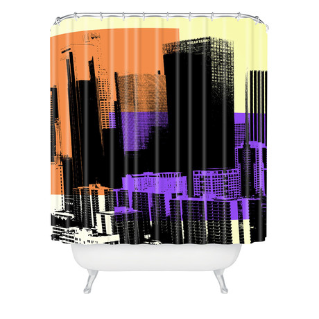Skyline // Shower Curtain