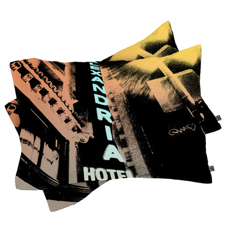 Alexandria Hotel // Pillow Case // Set of 2