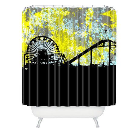 Santa Monica CA // Shower Curtain