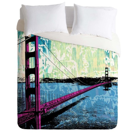 Golden Gate // Duvet Cover