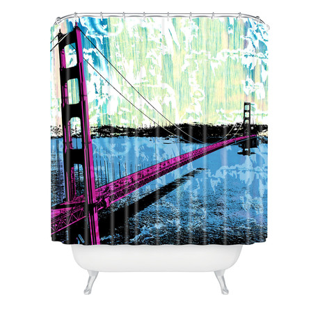 Golden Gate // Shower Curtain