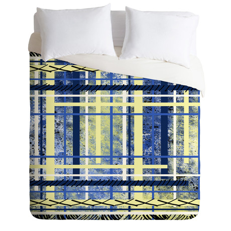 Blue and Yellow Obsession // Duvet Cover
